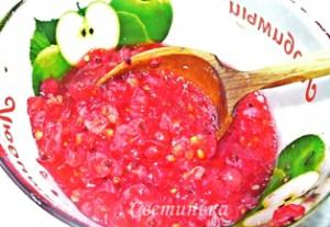 для холодного супа размять ягоды