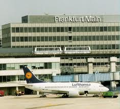Аэропорт во Франкфурт-на-Майне