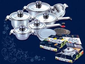 набор посуды из 19 предметов