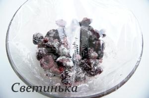 подготовить черешню для бисквитной пропитки
