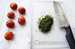 подготовить продукты для закуски