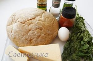 продукты для приготовления хлеба в духовке