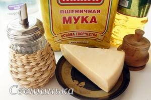 продукты для сырных лепешек