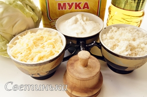 продукты для капусты, запеченной в духовке