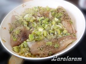 """Как приготовить рыбу в соусе """"Луковое моё горе... экзотическое""""! Готовка рыбы"""