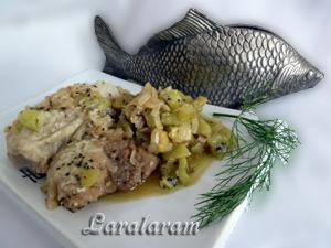 """Как приготовить рыбу в соусе """"Луковое моё горе... экзотическое""""!"""