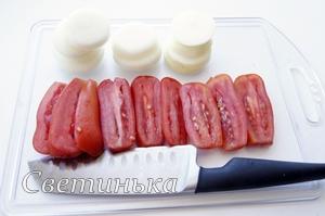 нарезать овощи для запекания с говядиной