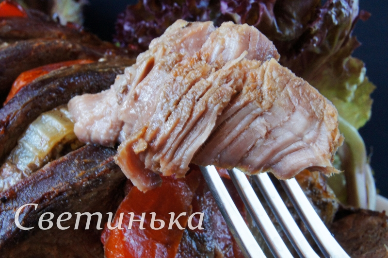говядина запеченная в духовке