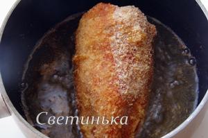 обжарить перцы в масле