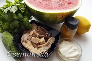 ингредиенты для вкусного салата
