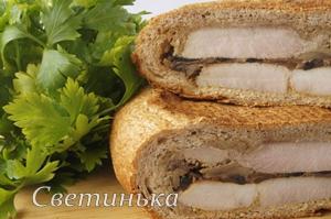 бутерброды на природу