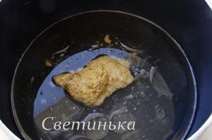 в воду положить горчицу и масло