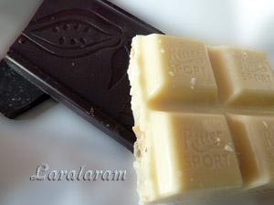 "Десерт ""ПАН-БАНАН"". Шоколад чёрный и белый"