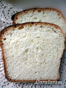 """Белый хлеб по-быстрому - """"Торопыжка-пышка"""""""