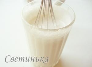 взбить сливки для крема