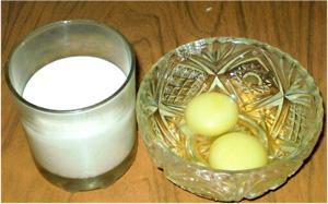 Омлет с овощами. Молоко и яйца