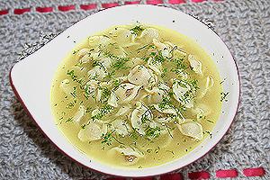 Дюшбара - суп с пельменями по-азербайджански