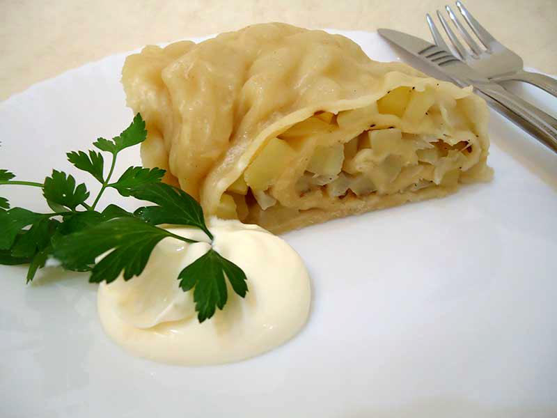 Ханум с картошкой рецепт с фото