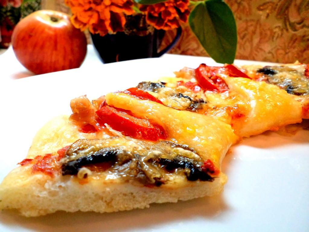 Моя любимая пицца. Готовая пицца