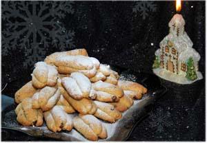 Мини-штоллены - печенье