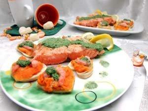 Блюдо на компанию из рыбы