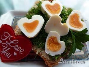Завтрак из яйц для двоих
