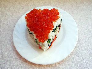 """Прессованные суши """"Сердце"""" – кулинарный рецепт"""