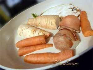 Обжарить овощи без жира