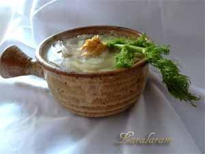Постный суп ароматный