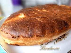 Рыбный пирог  от бабушки