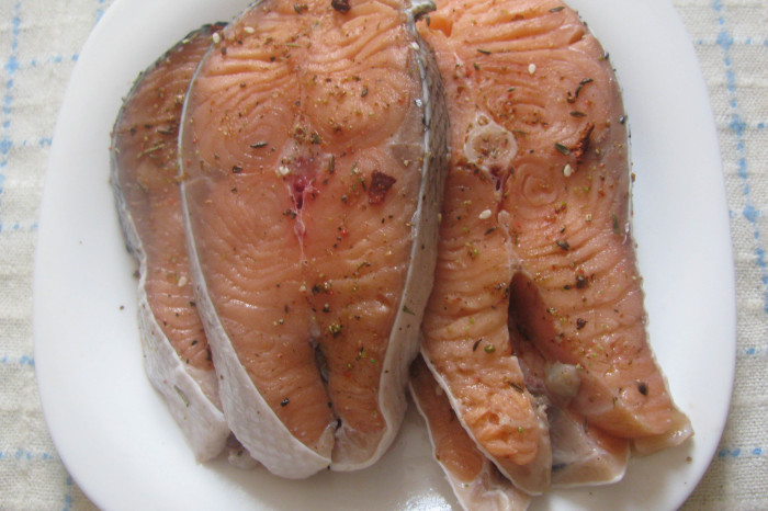 Семга на гриле рецепт с пошагово