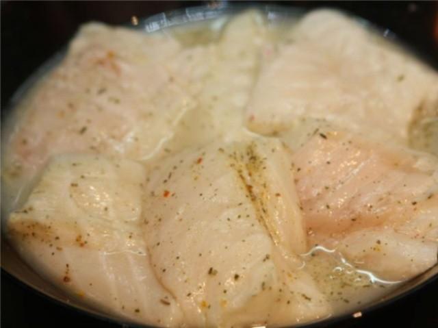 Стейк зубатки на сковороде рецепт с фото