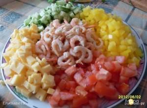 рецепт з креветками