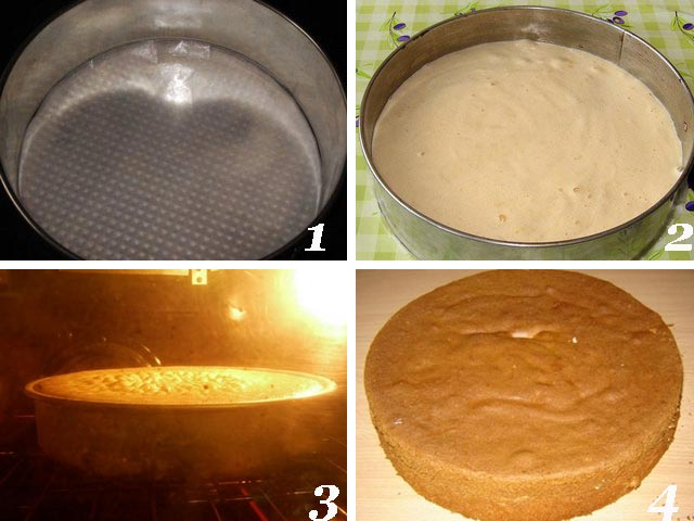 Как сделать тесто для торта в домашних