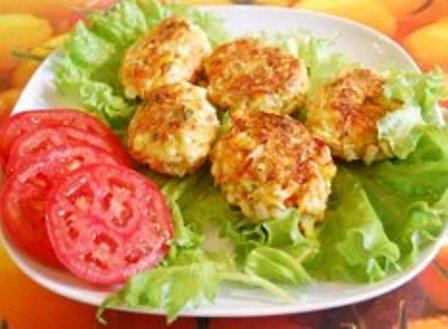 Куриные котлеты с овощами рецепт с фото