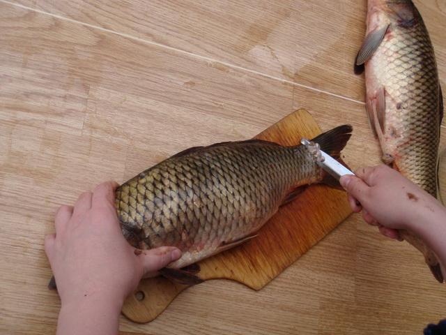 девушка со знаком рыба