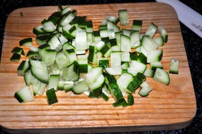 Крабовый салат как делают