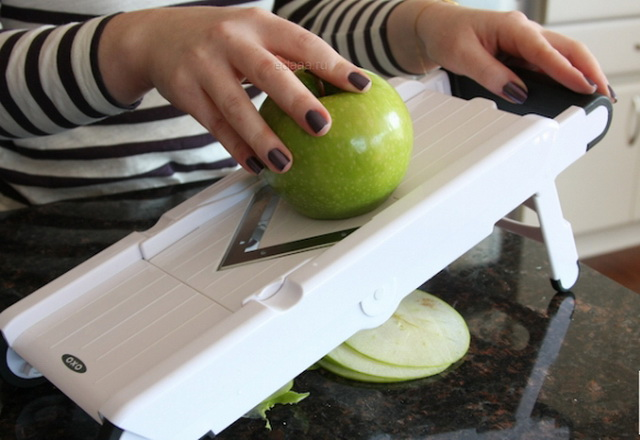 Нарезка яблок для сушки своими руками 11