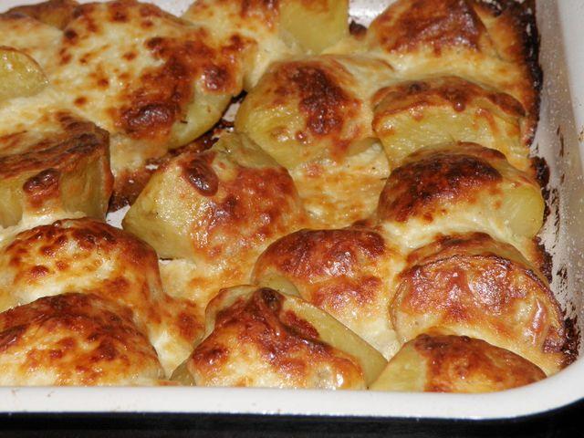 Рецепт картофеля с корочкой в духовке