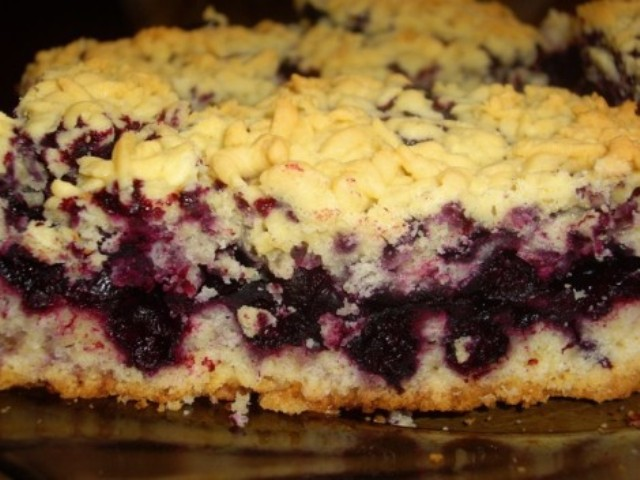 пирог с смородиной замороженной рецепт с фото пошагово