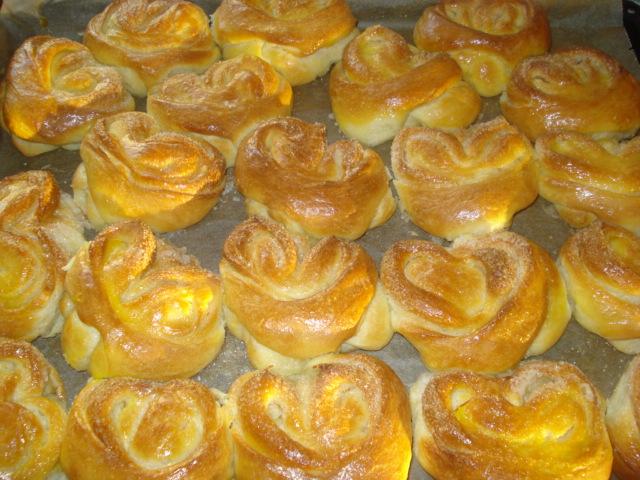 Красивые булочки с сахаром как сделать 118