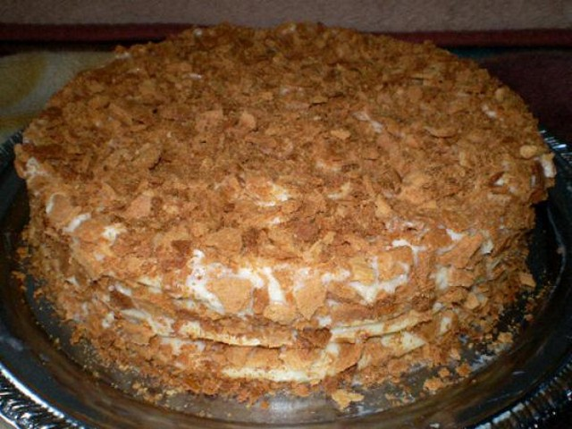 Как приготовить классический торт Наполеон 12