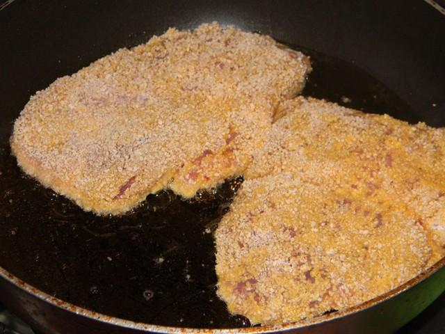 Шницель из свинины на сковороде без планировки