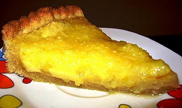 Открытый пирог с лимоном рецепты начинка