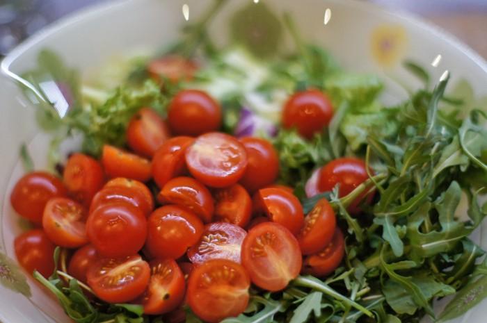 Салат из помидоров рецепты с