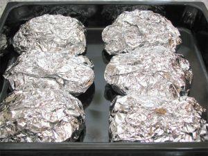 мясо с картошкой в духовке рецепт с фото в фольге