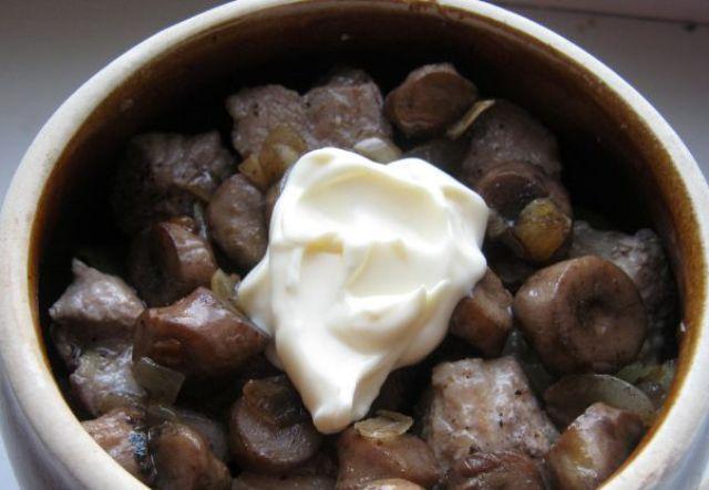 Картошка горшке духовке рецепт с фото