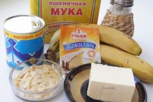 продукты для бисквитного рулета
