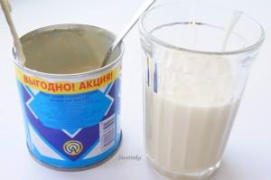 сгущенное молоко для бисквитного рулета