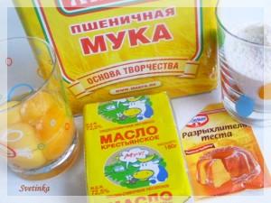 продукты для домашнего печенья